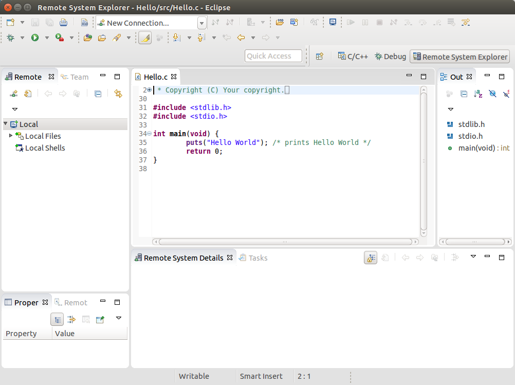 Yocto Programming with Eclipse - Variscite Wiki